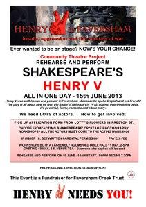 HenryV poster