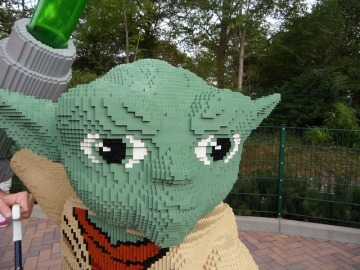Lego Yoda Star Wars
