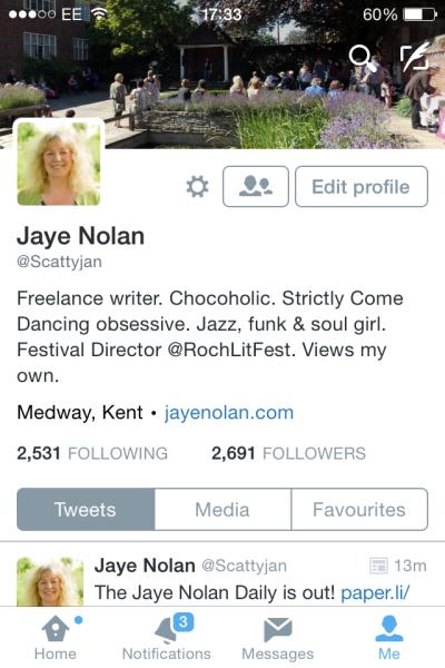 Jaye Nolan Twitter