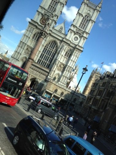 Westminster (from a bus)