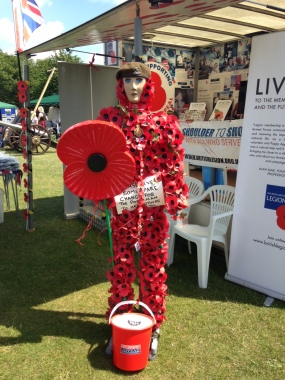 Poppy Person Medway Armed Forces Day 2015