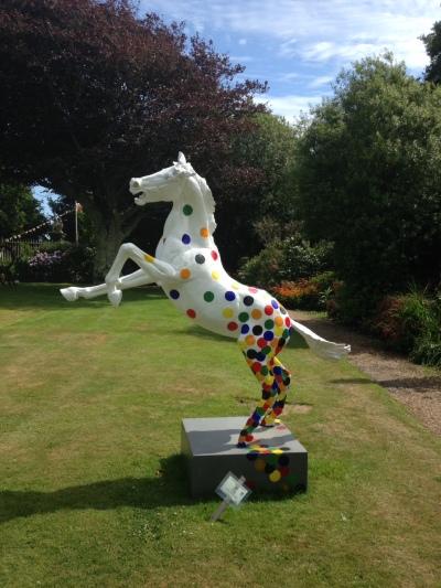 Sausmarez Manor Garden sculpture